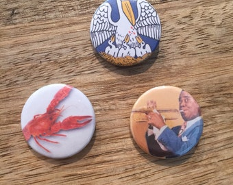 New Orleans button pack!