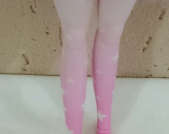 Gradient Star Stockings for Dolls