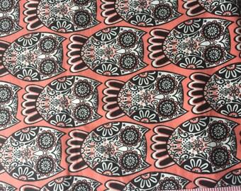Owl Flannel HALF YARD