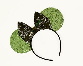 Mint Sequins Star Wars Mouse Ears