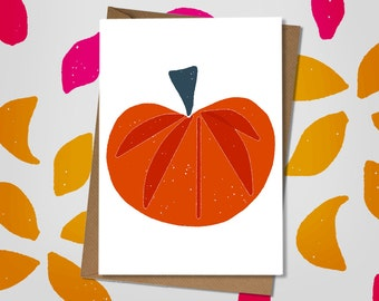 Pumpkin Squash Note Card