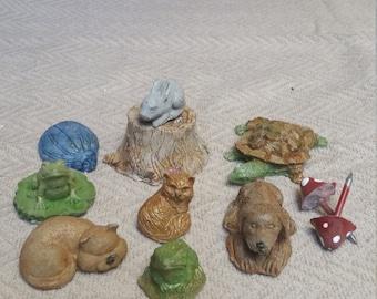 Miniature Garden Critters