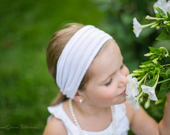 White girl, toddler, tween, teen headband,