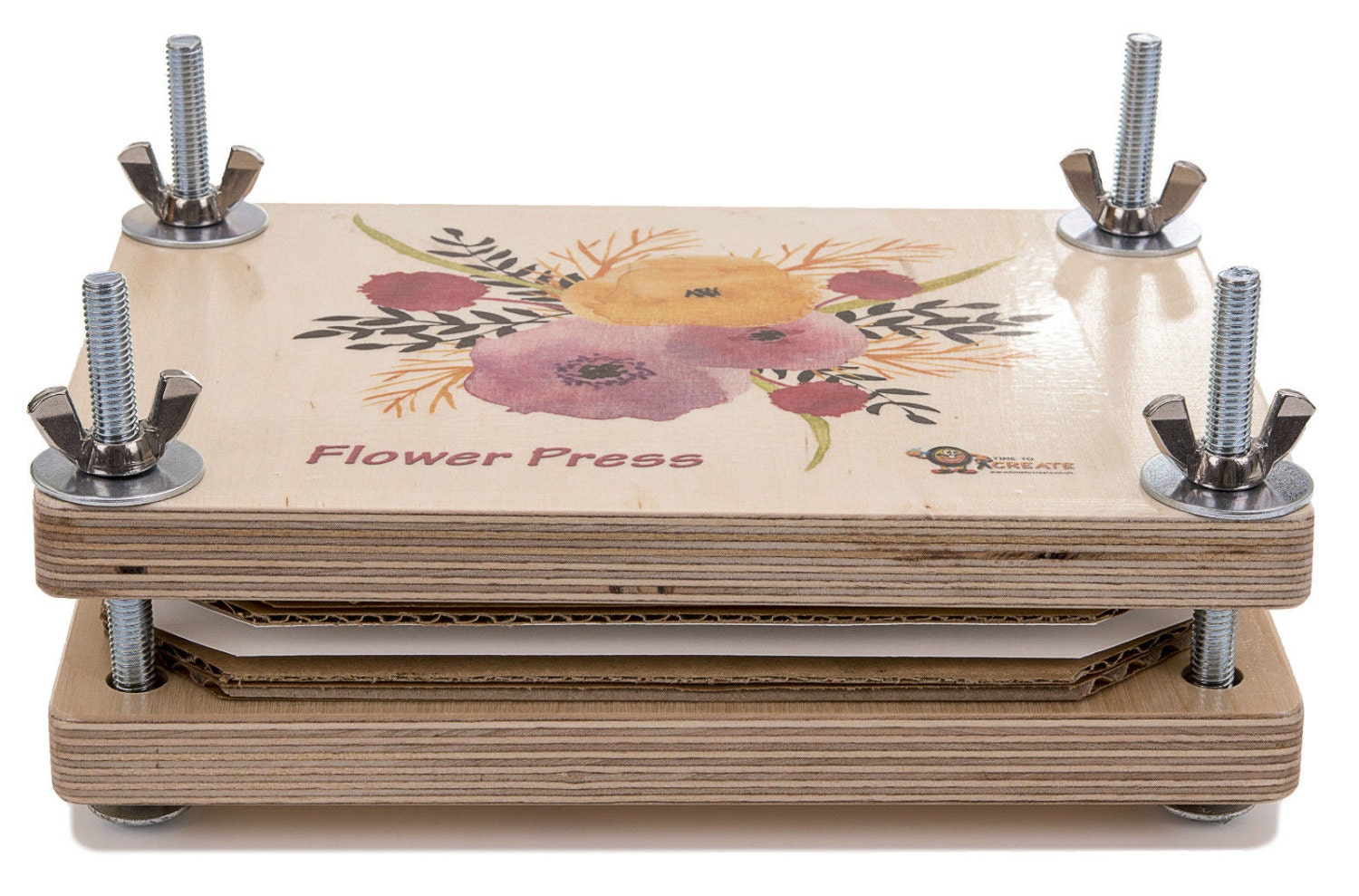 Flower Press Deluxe Wooden Kit Best Quality Will Not Bend