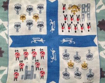 London is Calling! Tammis Keefe handkerchief