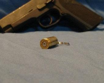 Gun shell key chain