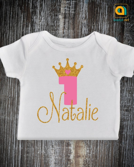 Baby Girl First Birthday Outfit One Year Old Birthday