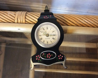 Vintage westclox wind up alarm clock