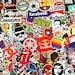 50 Vinyl Sticker Bomb Pack Laptop Stickers Car Stickers Bike Stickers