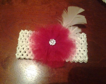 Baby headband- very elegant