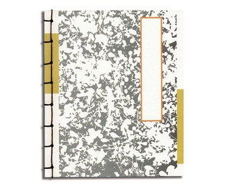 Handmade Blank Journal Notebook Sketchbook Japanese Stab Binding Plain Pages