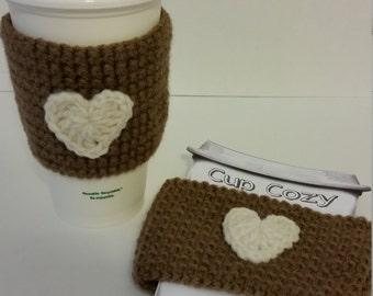 Crochet cozies, Cozy, Cup Cozy, Cup Warmer