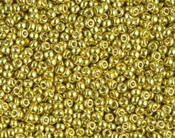 11/0 Duracoat Galvanized Zest  #4205  Miyuki Seed Beads - 10 grams