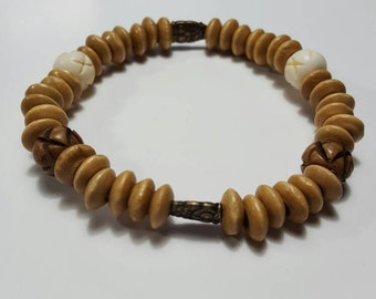 Wooden Owl Bracelet