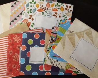 Handmade Envelopes A6
