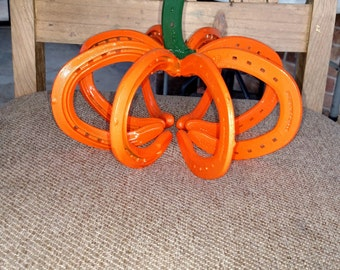 Small horse shoe pumpkin