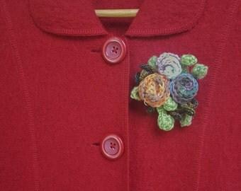 Brooch of Roses (2)