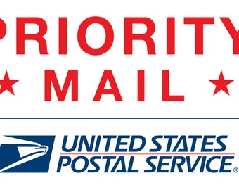 USPS Priority Mail UPGRADE Delivery in 1-3 Business Days