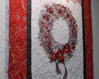 Christmas Wreath Quilt (wall hanging)