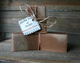 Cinnamon Sticks Goat Milk Soap