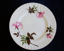 Queen Anne Bone China Plate / Vintage circa 1959