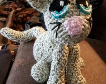Crochet Yarn Cat