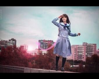 Iki Hiyori School Uniform Anime Norogami Cosplay Costume