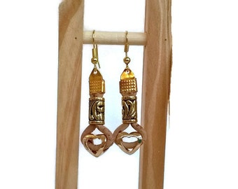 Portuguese cork earrings, vegan jewelry, vegan earrings