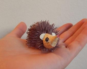 Paper Hedgehog - Home Decor - Baby Hedgehog