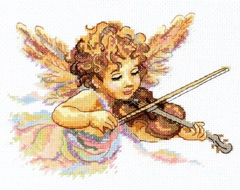 Cross Stitch Kit Thin strings of love
