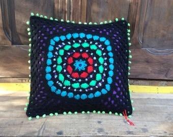 Gypsy mandala cushion
