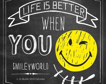 Smiley World Wall Calendar