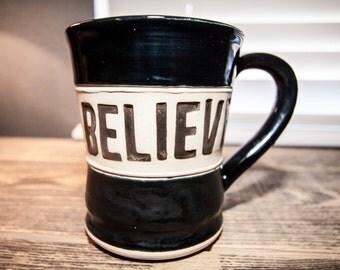 Coffee mug | Wheel thrown pottery mug | Stoneware mug | Handmade mug