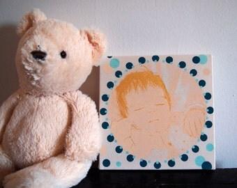 "Portrait TOTEM ""Angel."""