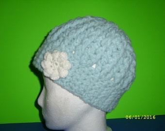 CAP in ice blue