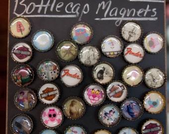 Rare Earth Bottle Cap Refrigerator Magnets