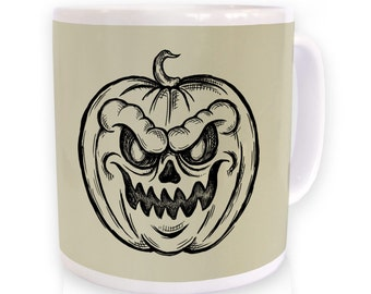 Jack O'Lantern Sketch mug