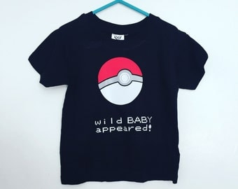 Pokemon pokeball baby t shirt
