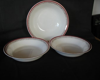 Alfred Meakin Bowls Set of Three