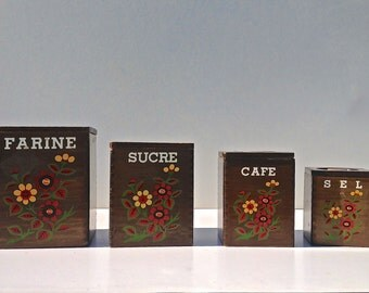 BOXES wooden spice