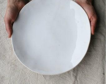 Ceramic Dinner Plate, Ceramic Dish, Dinnerware, Stoneware, Handmade Pottery
