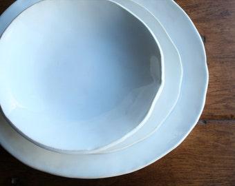 Ceramic Dinnerware Set,Handmade Ceramics, Rustic Dinnerware, Ceramic Plates, Ceramic Bowls, Ceramic Pottery