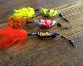 Beer Bottle Cap Fishing Lures, Gifts for Men, Birthday Day Gifts For Guys, Bottle cap Lures, Beer, Groomsmen, Guy Gifts, Boyfriend Gifts