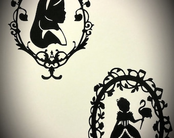 Through the Looking Glass Decals