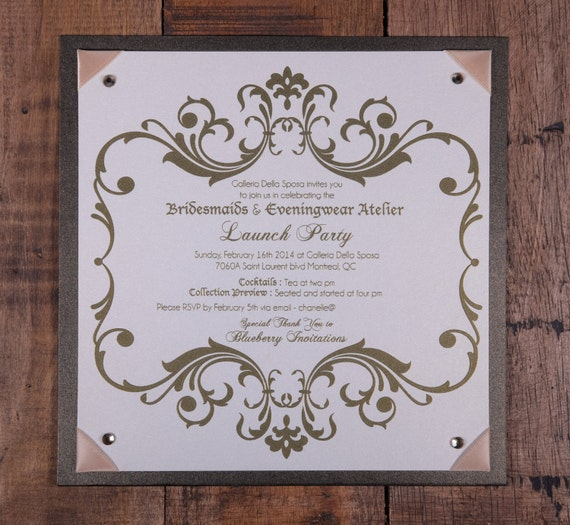 like this item - Launch Party Invitation