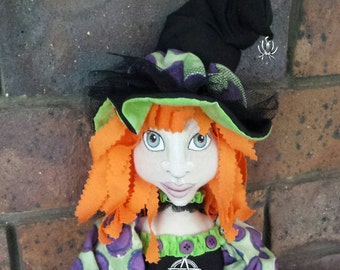 Lucy....Large witch doll