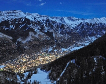 Telluride Photography, Colorado, Fine Art Photography, Large Wall Art, landscape, Winter