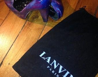 Lanvin Heels handpainted