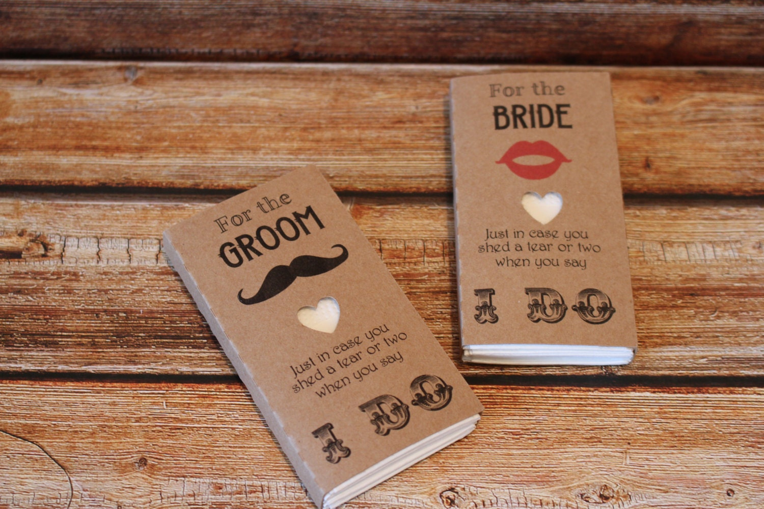 Bride And Groom Wedding Gifts: Wedding Favour Tissues For The Bride And Groom Gift