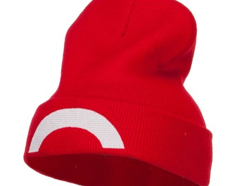 Ash Ketchum XY Series Embroidered Long Beanie